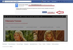 rimovere spam facebook