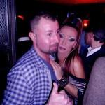 Coppia uomo e donna trans