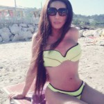 Mary transex spiaggia